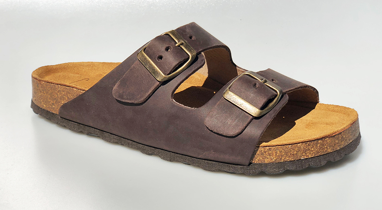 30d58ffc Trendy Waitz sandal i brun med supergod støtdempende såle ...